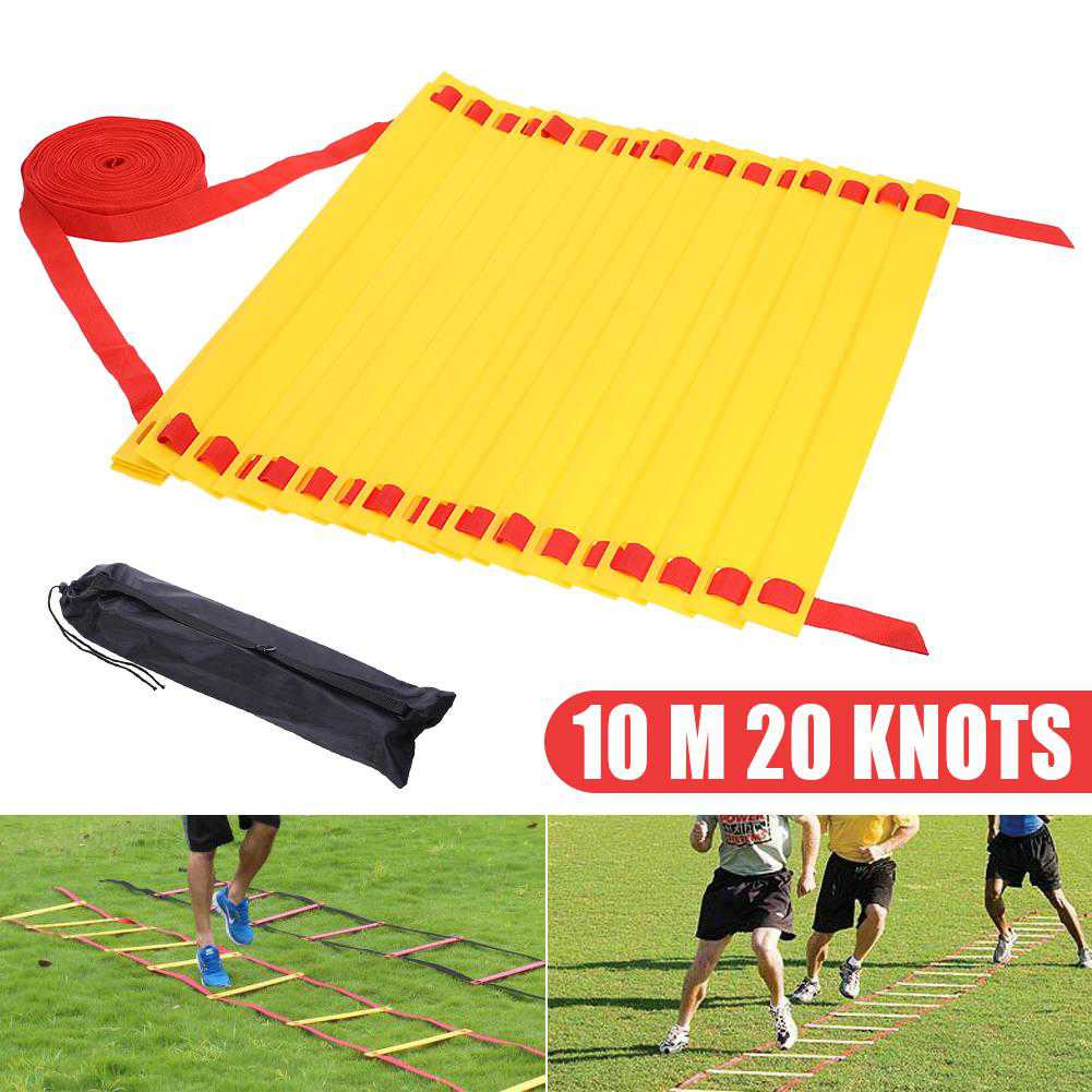 Soccer training agile ladder pace training ladder speed ladder training sof 10 m 20 knots