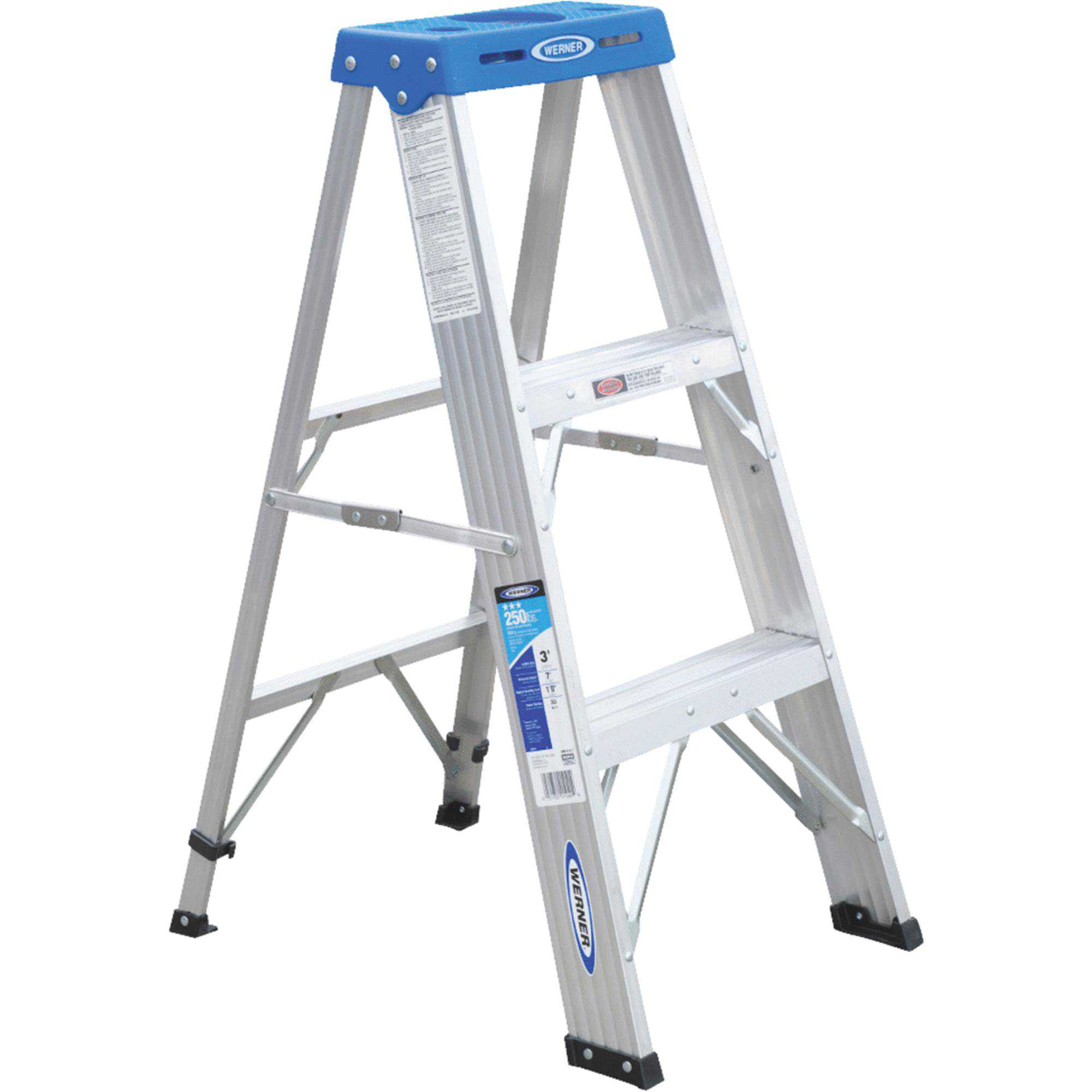 Werner Type I Aluminum Step Ladder