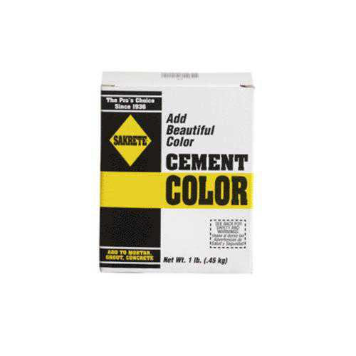 Sakrete 21301 Cement Color 1 Lb Red
