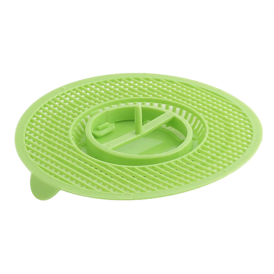Household Kitchen Bathtub Round Shaped Waste Hair Drain Stopper Filter Green