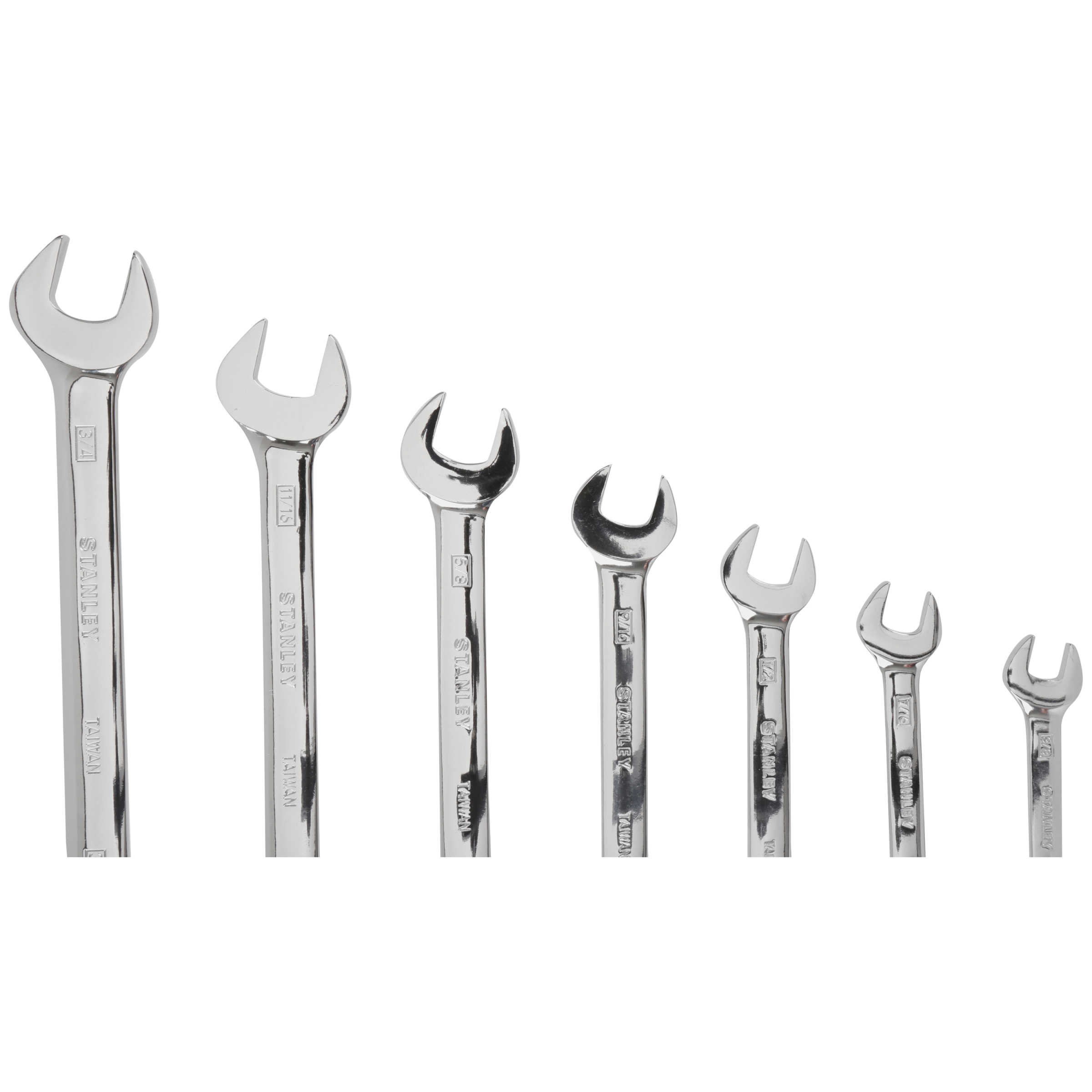 Stanley 7 Piece Ratcheting Wrench Set Sae