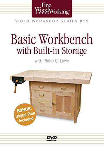 Fine Woodworking Video Workshop Series - Basic Workbench with Built-In Storage