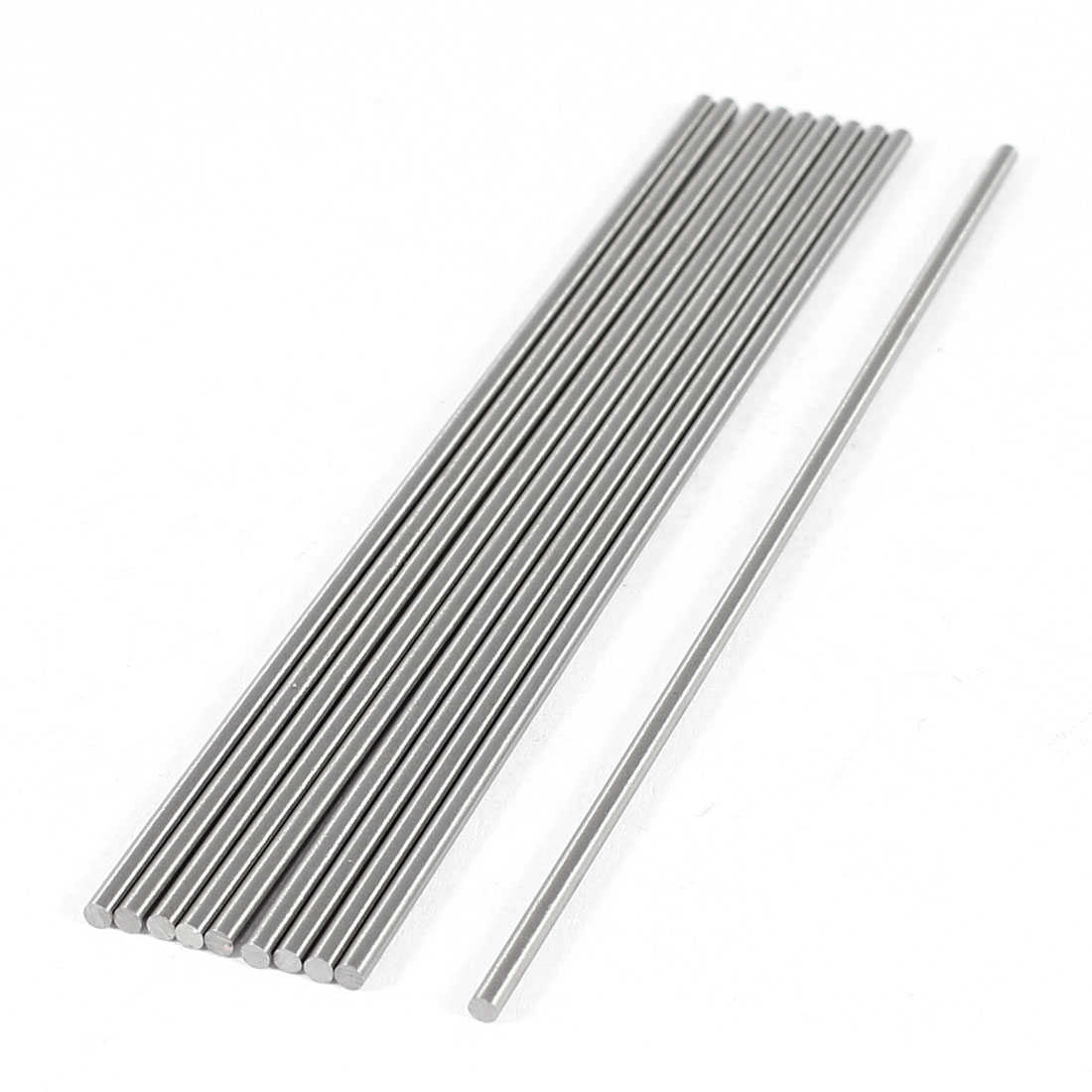 Unique Bargains 10x 1.8mm x 100mm Graving Tool Round Turning Lathe Bars Gray