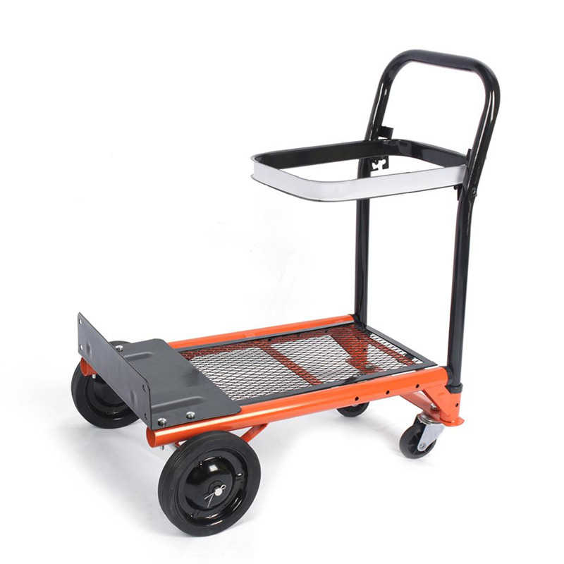 Garden Platform Cart,Heavy-duty Folding Sack Hand Truck Trolley 80 kg/176lbs Load Garden Platform Cart Barrow Dolly Home Garden Tool
