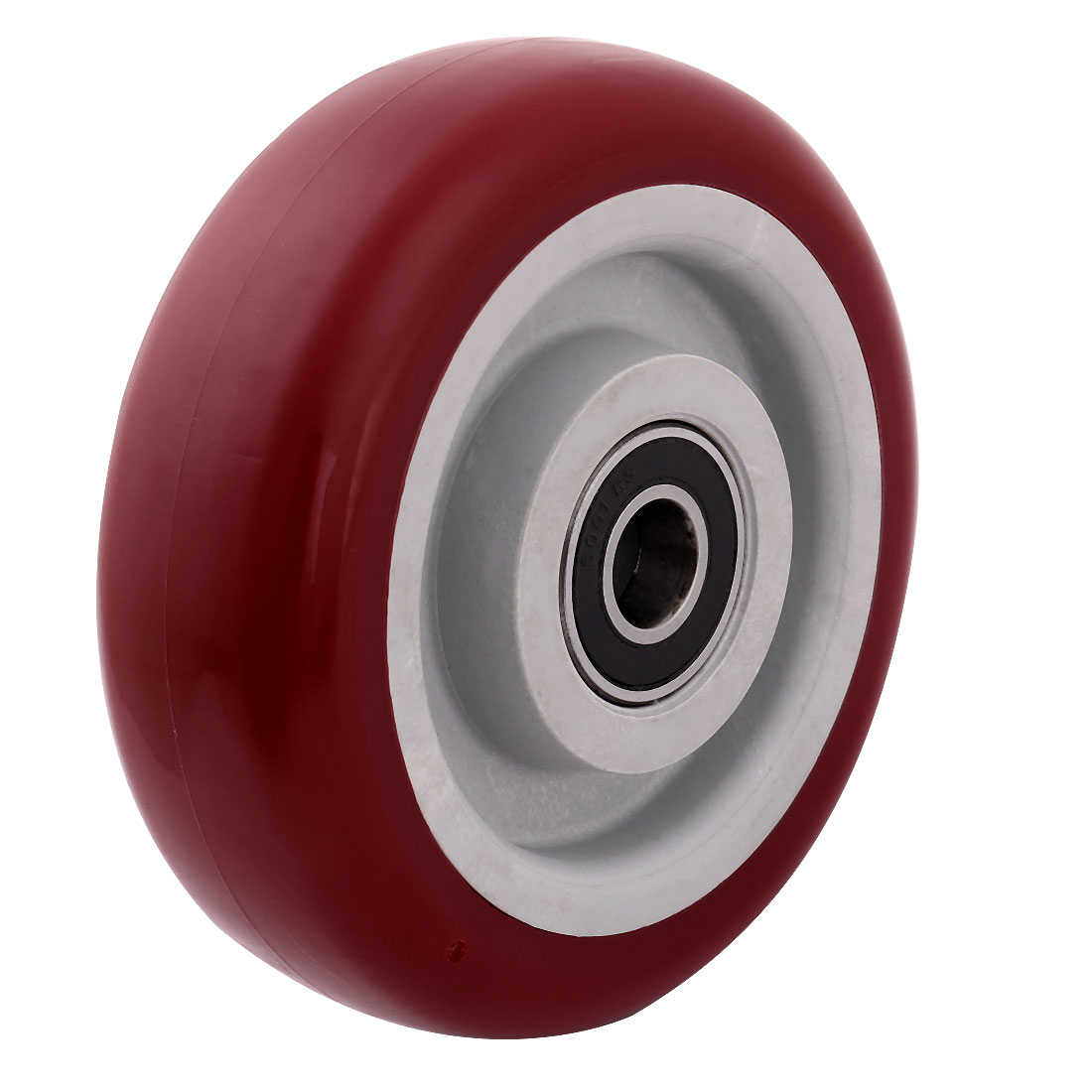 Household Market Shopping Cart Pallet Hand Truck Replacement Casters Wheel Red
