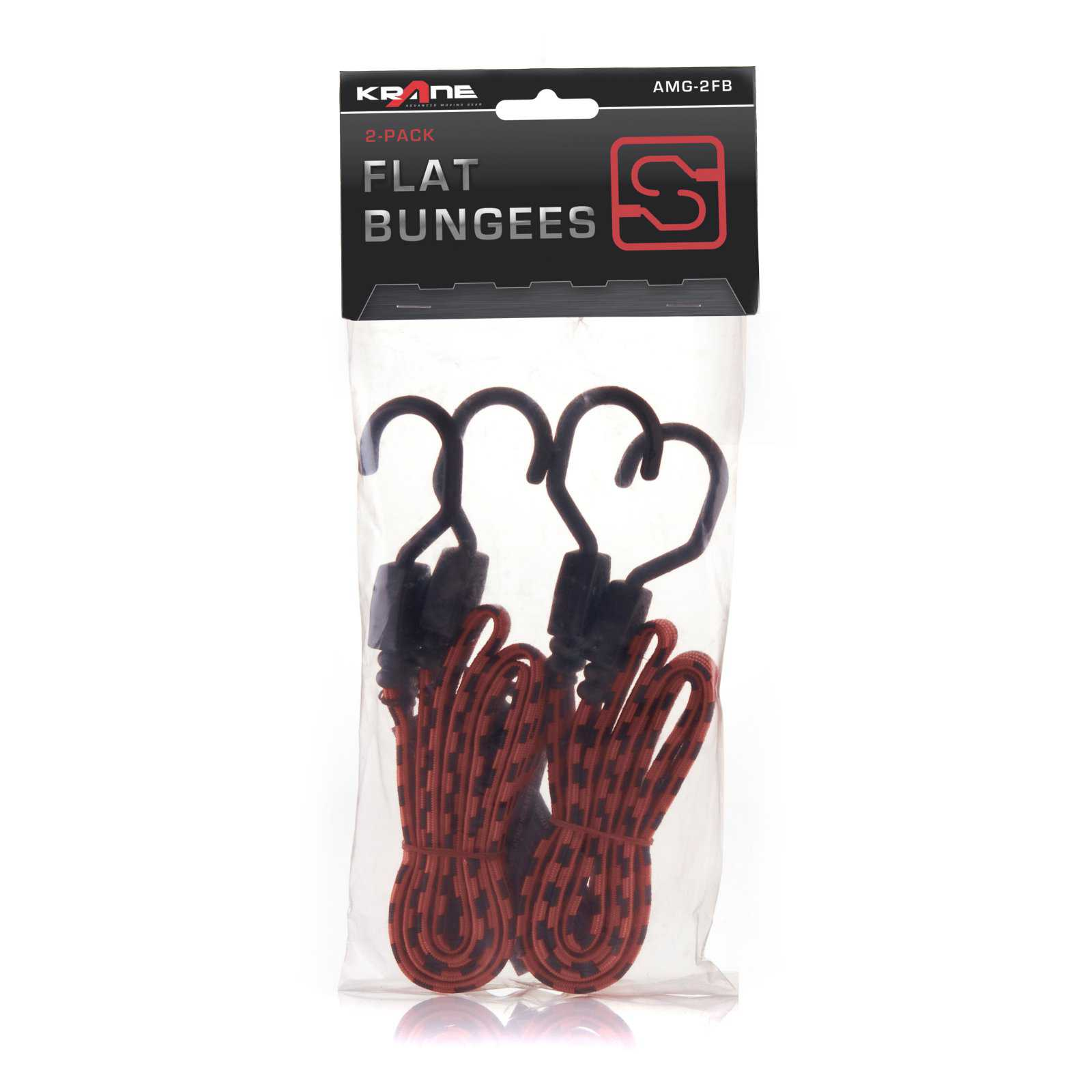 Krane 48 in. Flat Bungees - Set of 2
