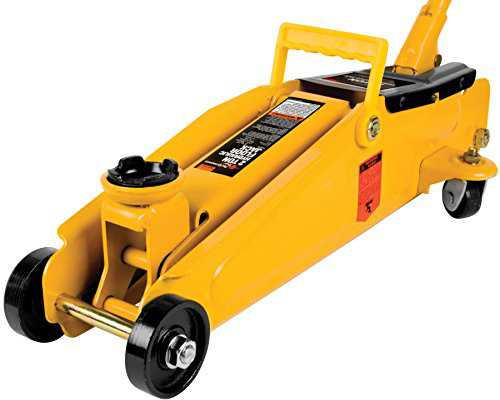 Wilmar W1614 Floor Jack With 15-Inch Lift - 2 Ton Capacity